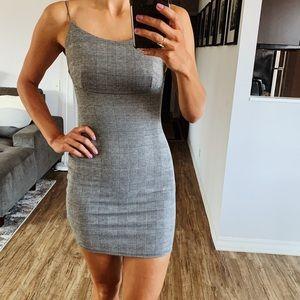 Windsor gingham bodycon dress